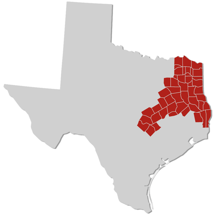 Texas map | Our Territories
